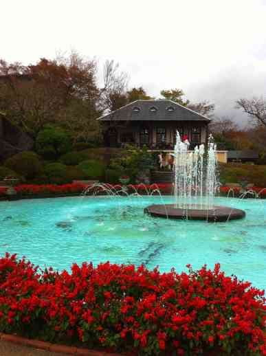 Hakone Gora Park is the first French-style garden in Japan