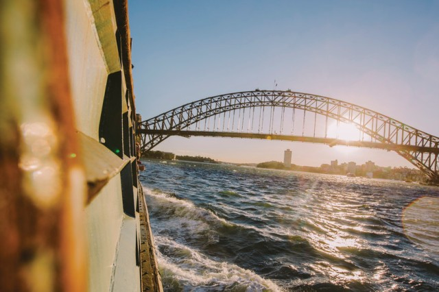 Ferry to Manly, Sydney, NSW