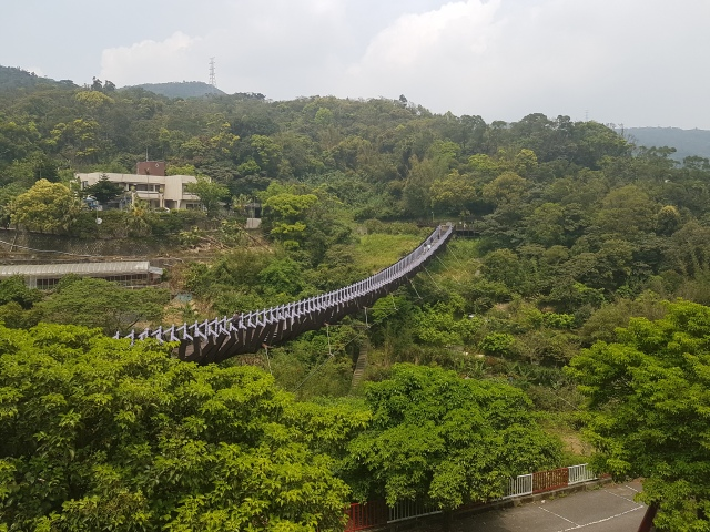 baishihu suspension bridge